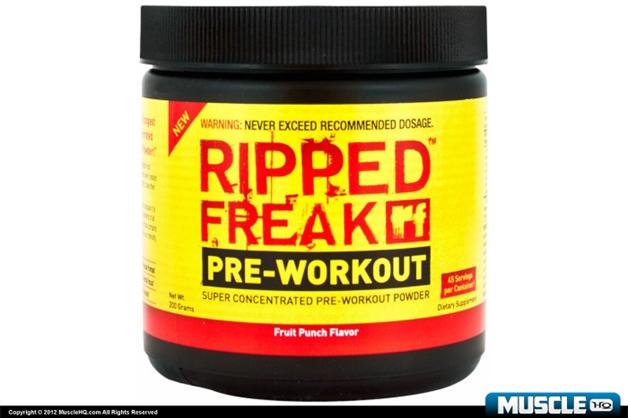 Ripped Freak Super Concentrated Pre-Workout Powder
